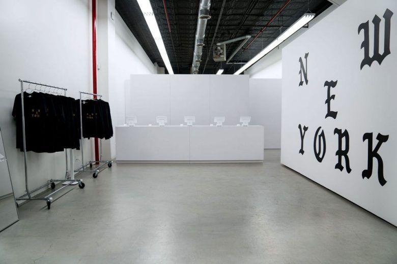 A Look Inside Kanye West S Pablo Pop Up Stores Retail Interior Design Pop Up Stores Fashion Retail Interior