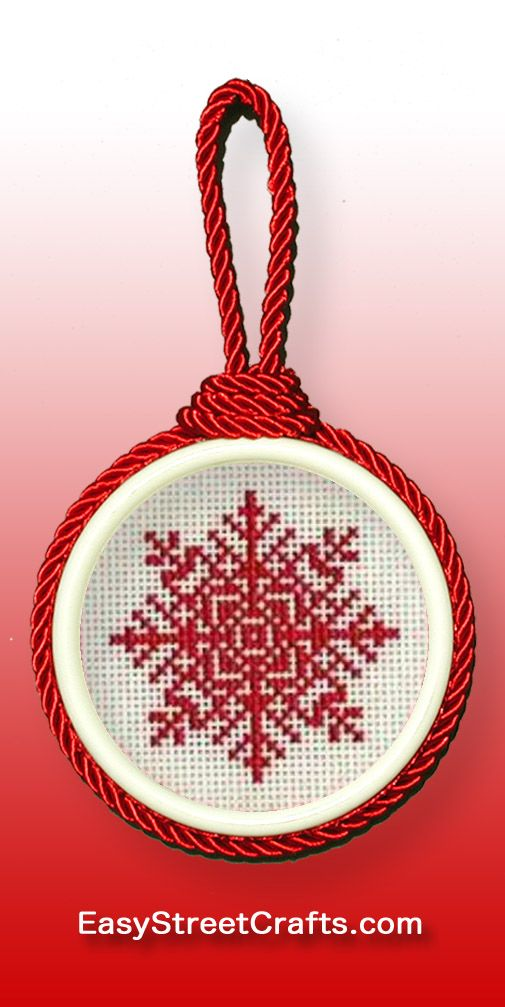 Framed in Sweet Suspensions circle double-sided ornament frame ...