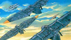 歴代ジブリ作品に登場する戦闘用の兵器一覧 Naver まとめ Studio Ghibli Ghibli Hayao Miyazaki