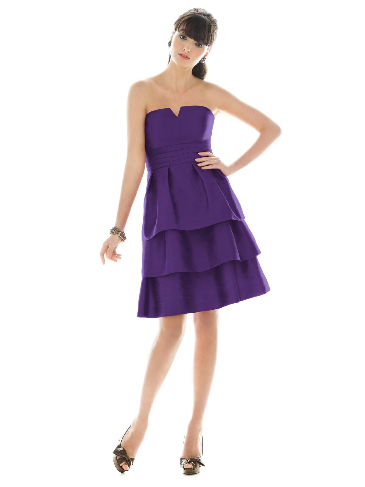 comes in different colors | Bridesmaid Dresses | Pinterest | Alfred ...