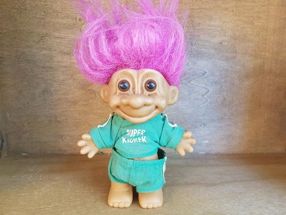 "CRAZY ABOUT YOU Russ Message Troll 3/"" NEW IN BAG"
