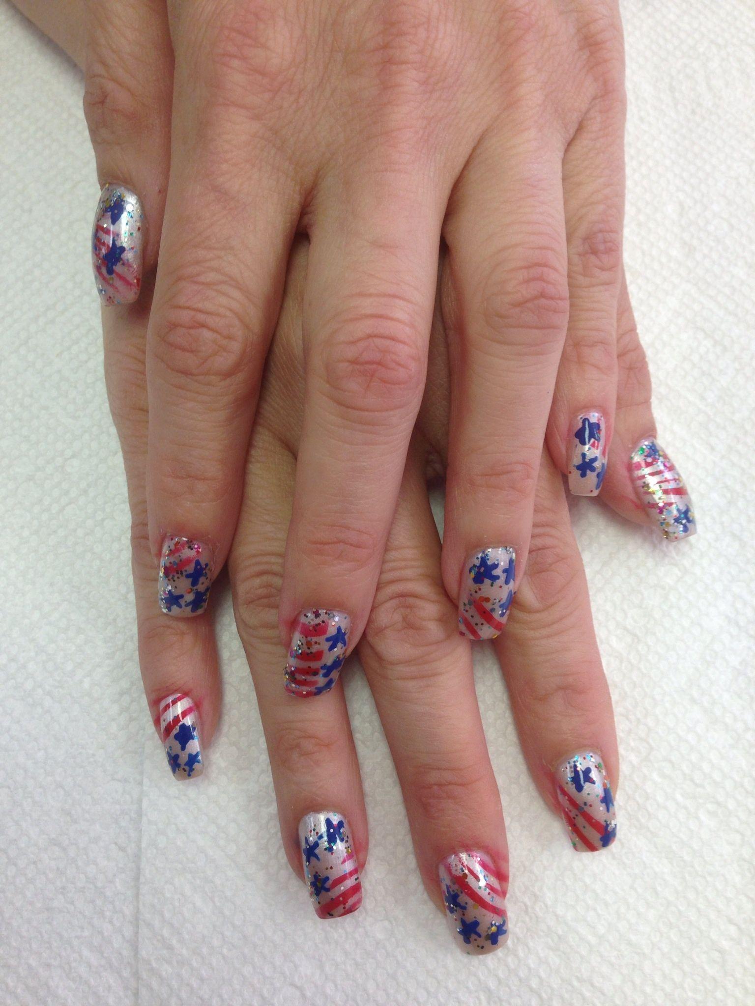Labor Day Nails Holiday Nails Nails Class Ring