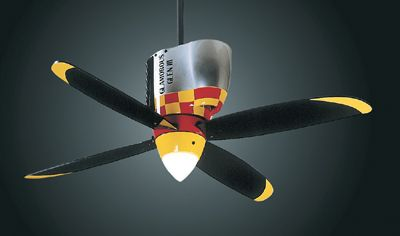 P 51 Mustang Ceiling Fan This Will Be In Our Future Game Room