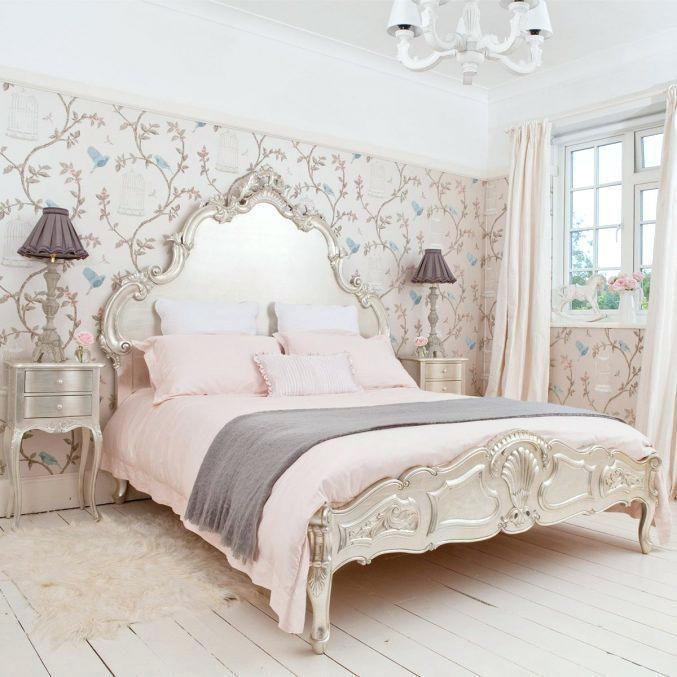 Franzosisch Inspirierte Schlafzimmer Wohnzimmer Landhausstil