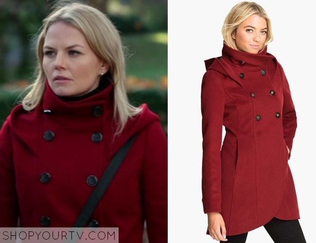 Once Upon a Time: Season 3 episode 12 Emma's red funnel coat ...