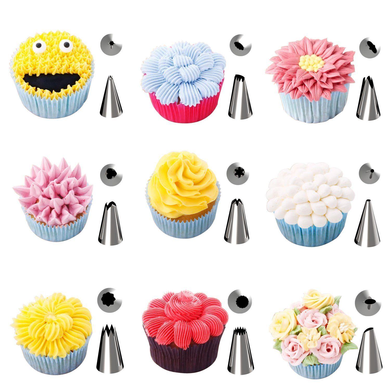 AmazonSmile: Kootek 42 Pieces Cake Decorating Supplies Kit with 36 ...