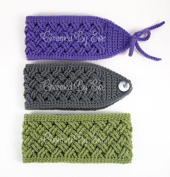 Ravelry: Aislinn Celtic Dream Head Wrap Ear Warmer pattern by Janaya ...