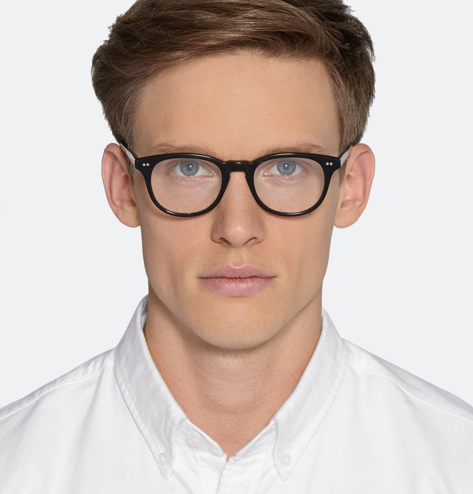 Cutler and Gross - Square-Frame Acetate Optical Glasses | Guys in ...