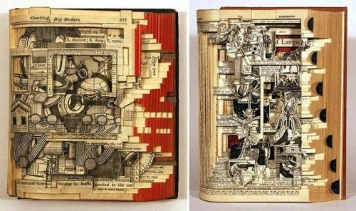 Altered Books look amazing