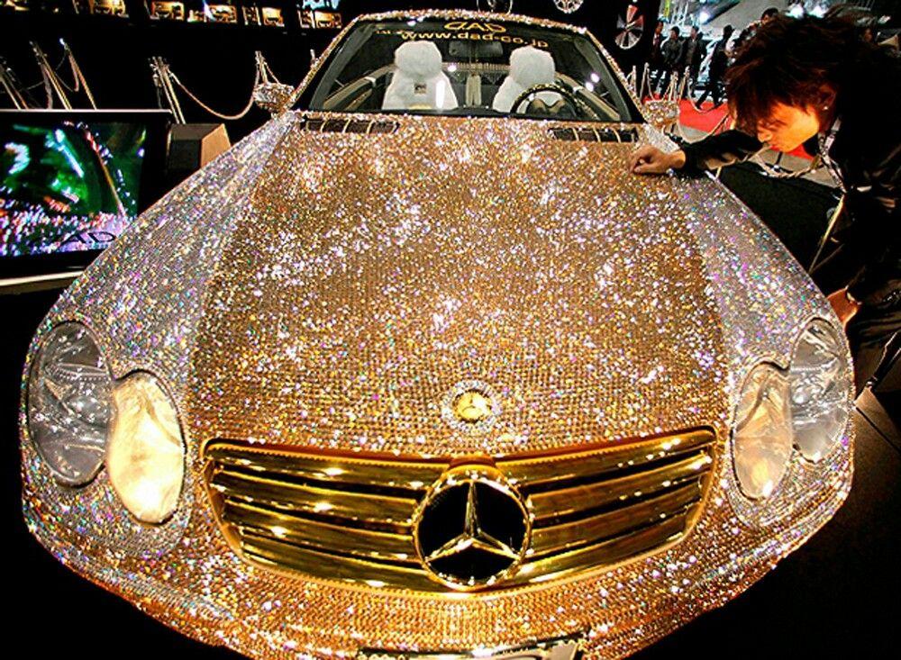 картинки машин блестящих втором