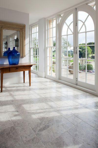 Tundra Tumbled Marble Tiles Tumbled Marble Tile Stone Flooring