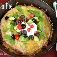 Recipe Submitted By:  Small Town Woman Click on the link below for the Tortilla Pie Recipe!   Tortilla Pie