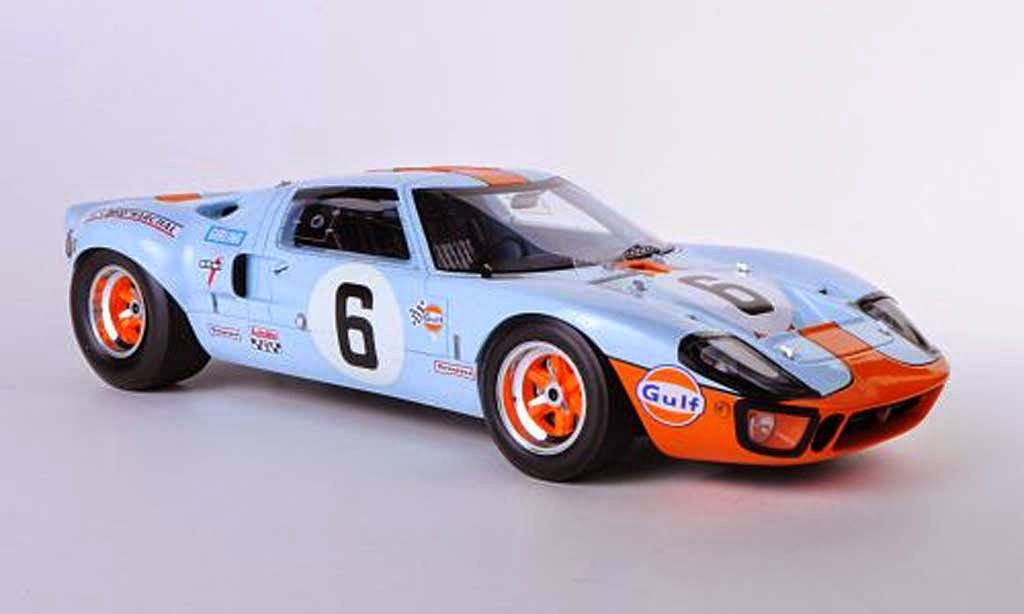 1969 Le Mans Winning Gulf Mirage Ford Gt40 Mk1 Piloted To Victory