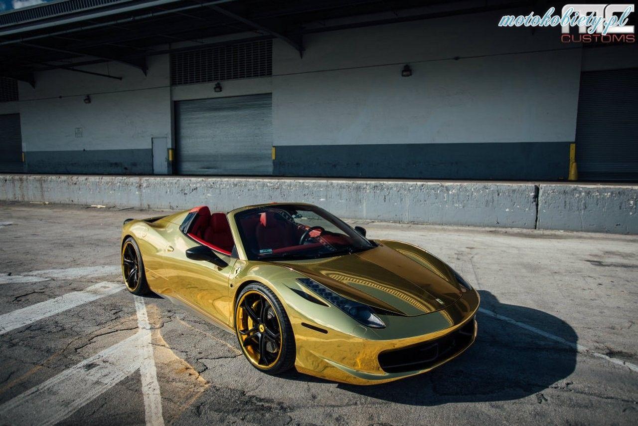 Mccustoms Ferrari 458 12 Ferrari 458 Ferrari 458 Italia Spider Ferrari Spider