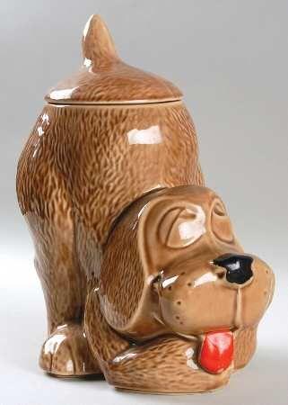Dog Cookie Jar Cookies Et Biscuits Jar Jar Vaisselle