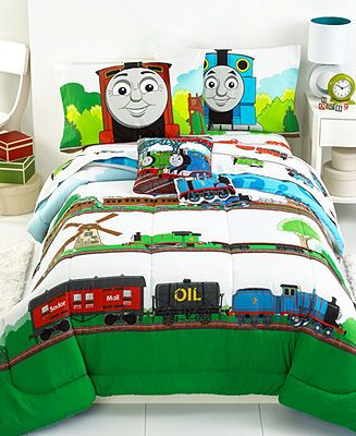 Jay Franco Thomas And Friends Full Comforter Set Bed In A Bag