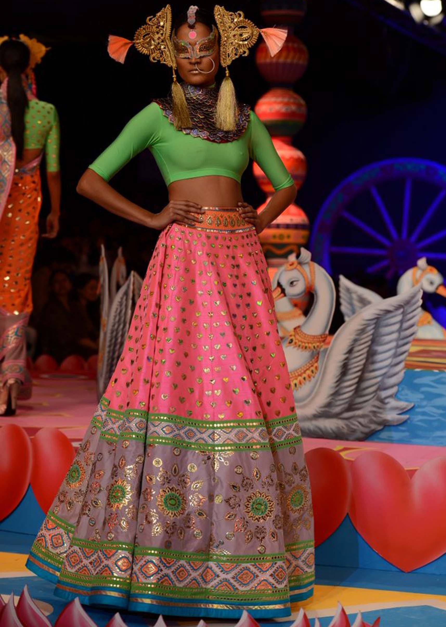 Manish Arora collection at the PCJ Delhi Couture week 2013 ...