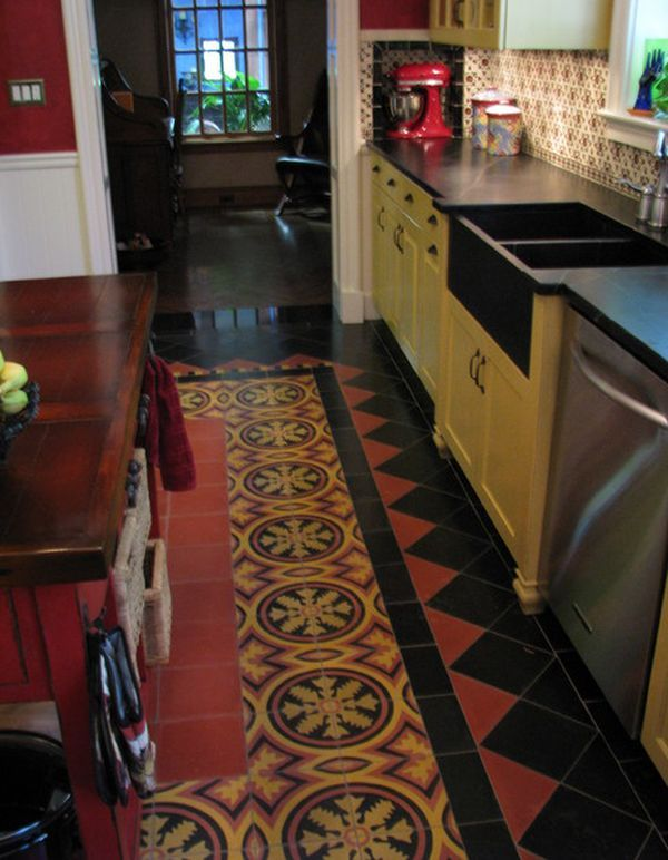 Like Your Mexican Wall Tiles Floor Should Have A Regular Motif Running Through Them With However Go For And Bold Design