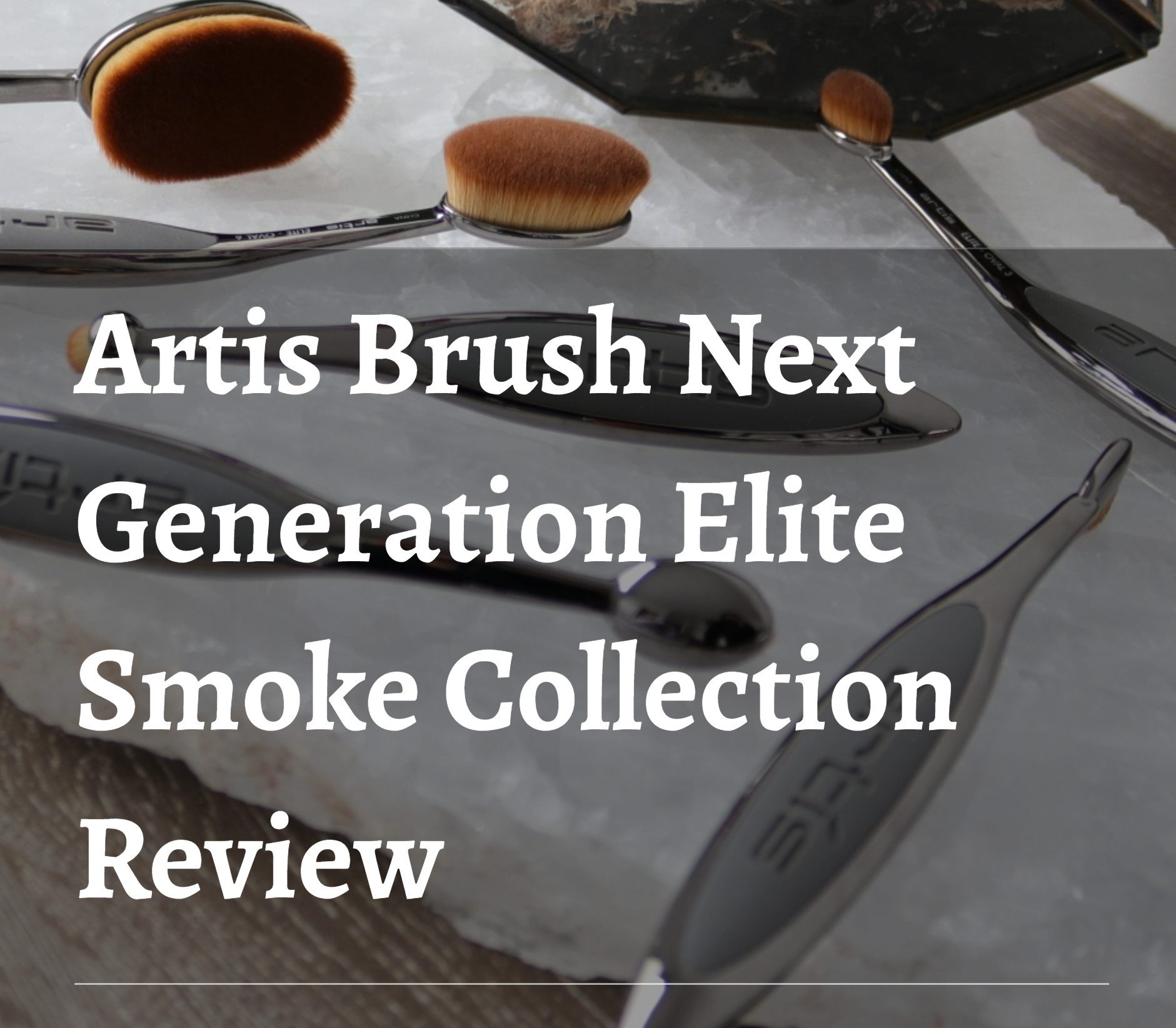 Artis Brush Next Generation Oval Brush Review. Cruelty