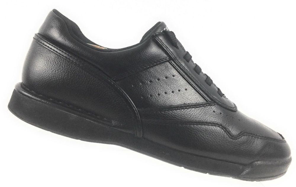 e1b8cb33a2fcde Rockport K71096 Prowalker Leather Black Walking Shoes Men's US 9.5W UK 9 EU  43 #Rockport #Oxfords