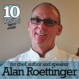 10 Question Interview - Vegan Foodie Edition - Alan Roettinger