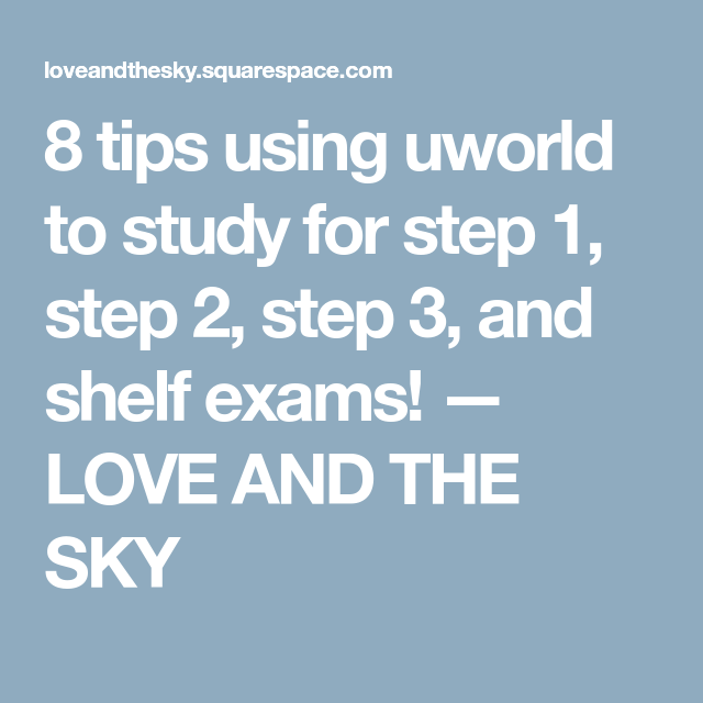 uworld step 3 login