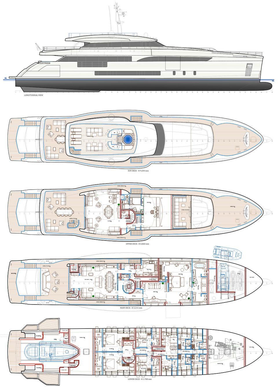 Luxury Yacht Engine Room: 150pl.jpg (960×1337) (With Images)