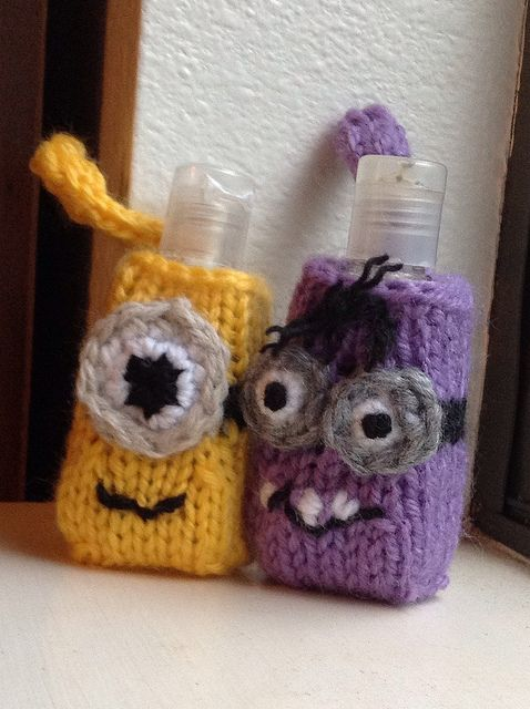 Crochet Hand Sanitizer Cozy Holder Case Instant Download Pattern