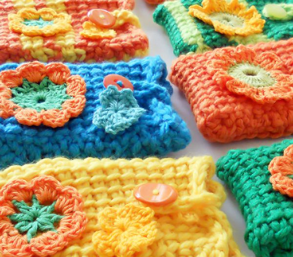 """Pretty little """"Phone Covers"""" all in a row... by colorful senses!"""