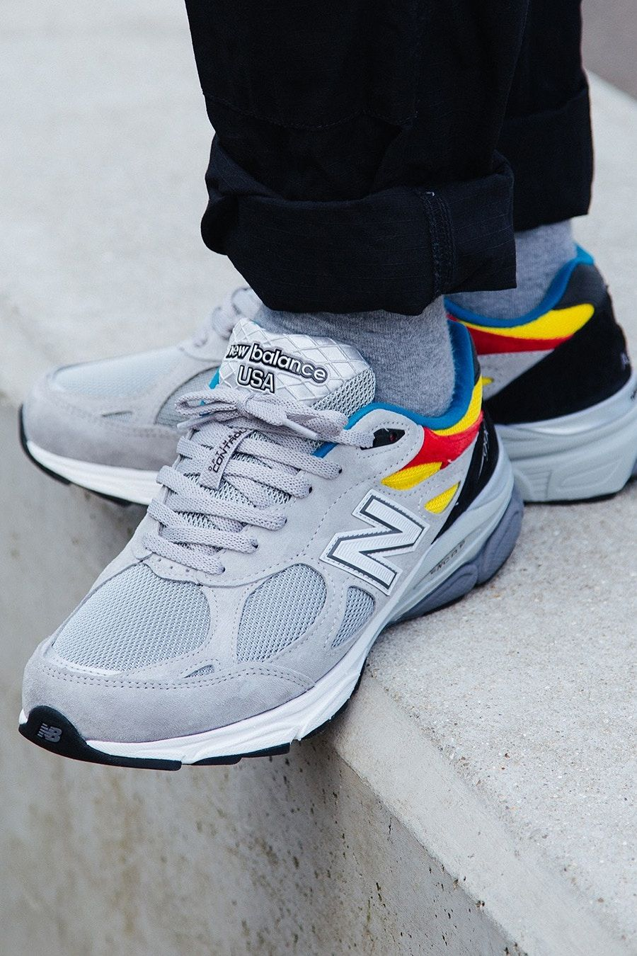info for 8ef36 f99b6 Aries x New Balance 990v3 Gives the Dad Shoe Some Pop | New ...