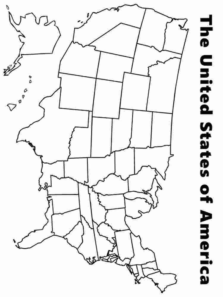 Us Map Coloring Pages Sports Coloring Pages United States Map