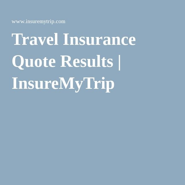Travelers Insurance Quote Impressive Check Travel Insurance Quote Results  Insuremytrip  Disney Bound . Review