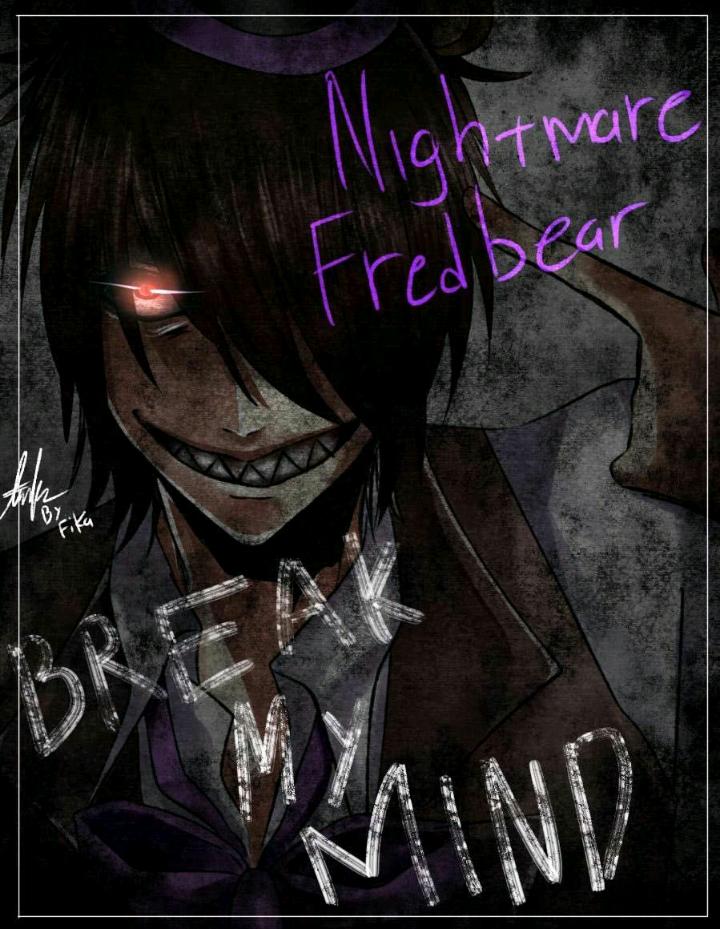 Human Nightmare Fredbear FNaF 4 | FNAF | Fnaf, Fnaf drawings, Fnaf