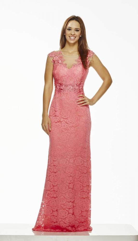 Vestido Renda com Guipure e Bordados | vestidos | Pinterest ...