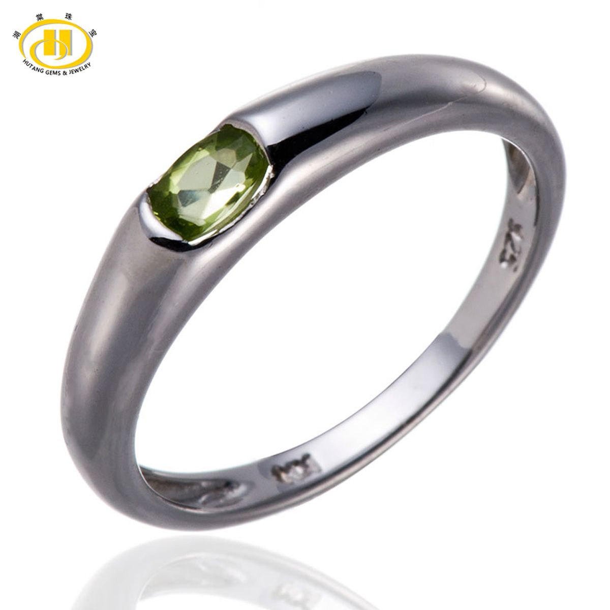 suppliers hutang fine sterling buy ring rings classic peridot quality genuine directly natural jewelry from bands cheap china gemstone pin