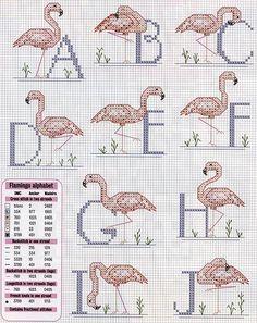 alfabeto punto croce con cicogne rosa (1)