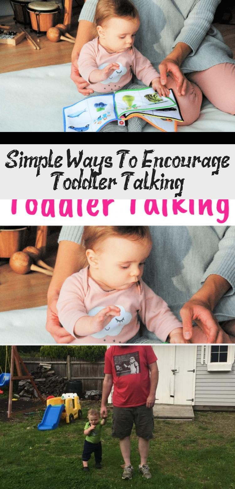 Simple Ways To Encourage Toddler Talking - health and diet fitness,  #babycarebasics #Diet #Encourag...
