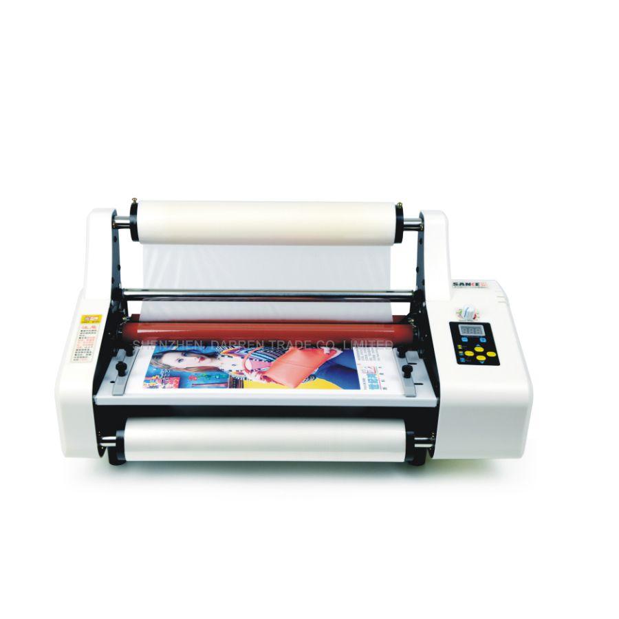 Skt350 Laminator 220v Laminating Machine A3 A4 Film Laminating Machine With Manual Cheap Shop Money Counter Film