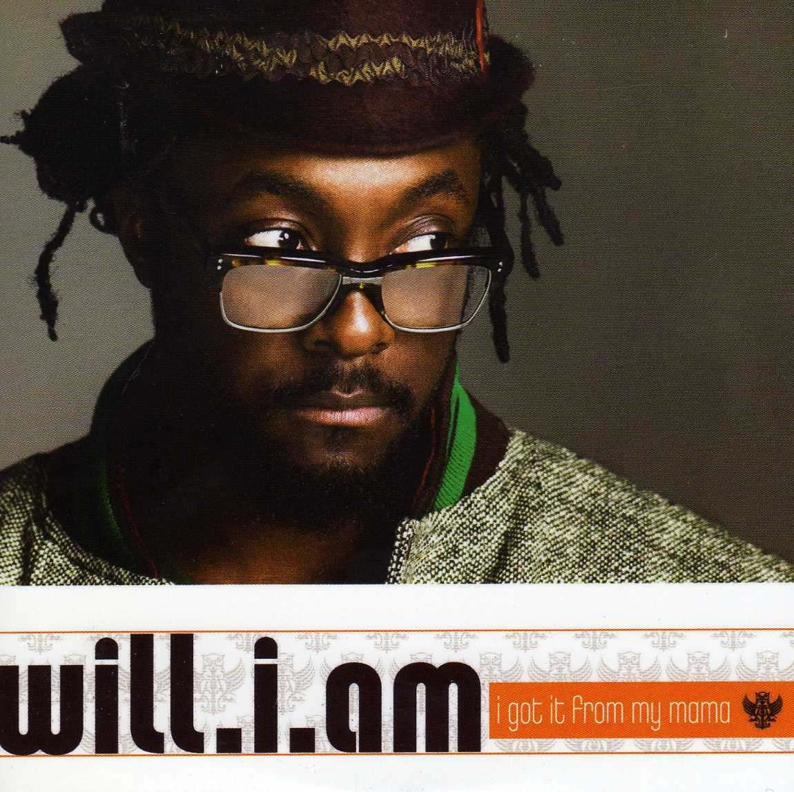 will.i.am – I Got It from My Mama (single cover art)