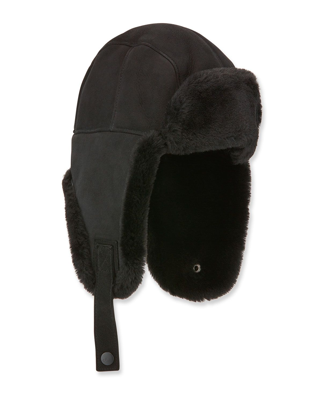 11c84e586a1f1 Men s Shearling-Lined Sheepskin Trapper Hat