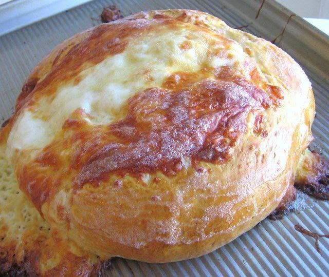 Russian Georgian Cheese Bread Recipe 2 Megruli Khachapuri Cheese Bread Recipe Cheese Bread Bread Recipes