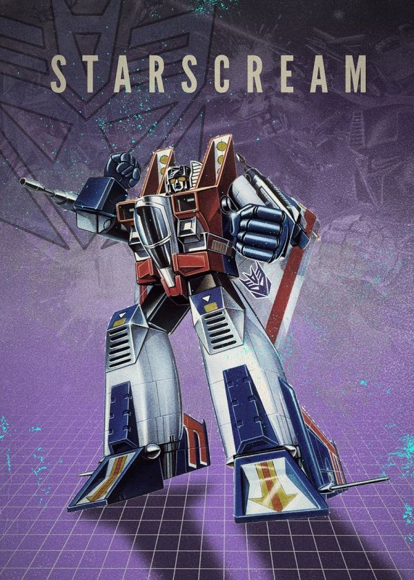"Transformers Decepticons Starscream #Displate explore Pinterest""> #Displate artwork by artist ""Rykker o7"". Part of… 