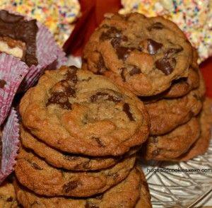 raspberry chip cookies