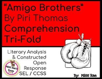 Amigo Brothers by Piri Thomas Short Story Comprehension ...