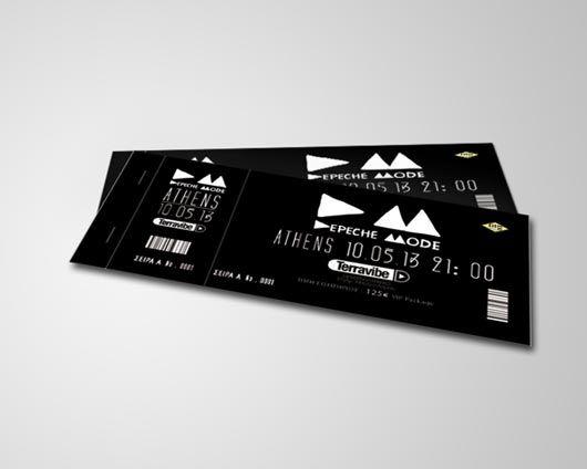 Attractive Ticket Designs Ticket Design Voucher Design Event Tickets Design