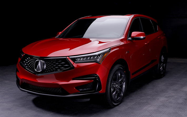 Download Wallpapers 4k Acura Rdx Darkness 2019 Cars Crossovers Red Rdx Acura Besthqwallpapers Com Acura Rdx Acura Dream Cars