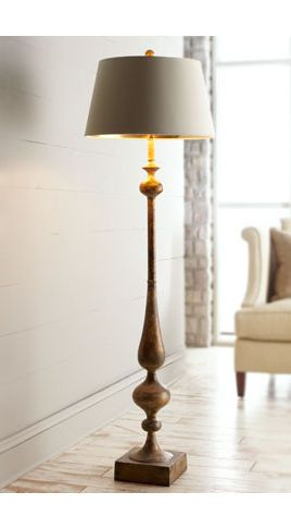 Traditional floor lamps lamps table buffet floor for Traditional gold floor lamp
