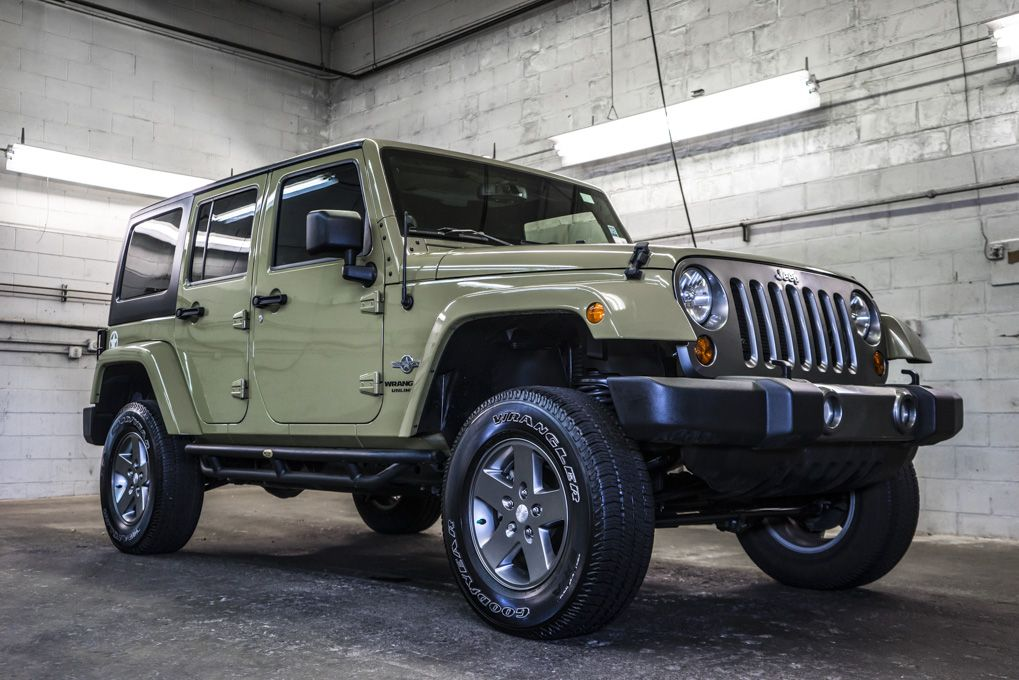 2013 Jeep Wrangler Unlimited Oscar Mike Edition 4x4 For
