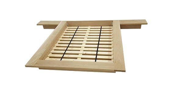 Floating Platform Bed, King Bed, Wide Ledge Bed, Loft Bed, Low ...