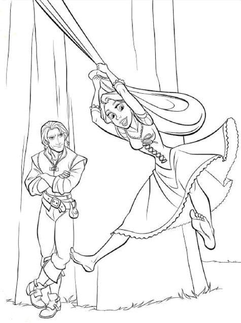 Tangled Coloring Page Jpg 475 637 Tangled Coloring Pages Cool Coloring Pages Rapunzel Coloring Pages
